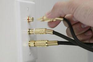 Hvordan fikse Kornet Cable Pictures