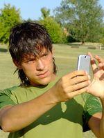 Slik Send en SMS med vedlegg