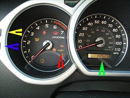 Hvordan Reset Vedlikehold varsellys på en 2005 Toyota 4Runner