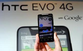 En sammenligning av HTC Desire og HTC EVO 4G
