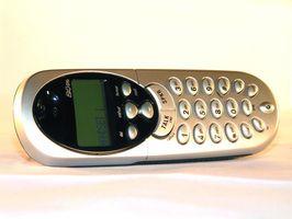 Trådløse telefoner som bruker AA-batterier