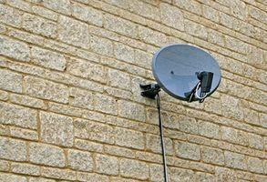 Hvordan løse problemer med en DirecTV parabolantenne
