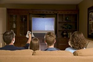 Hvordan sette opp en Panasonic HDD-opptaker på en TV