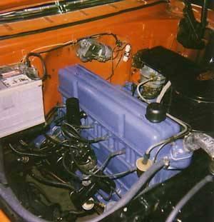 Hvordan legge til olje til en 1955 Chevrolet Bel Air