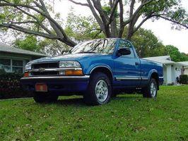 Slik feilsøker en Chevy S10 lastebil