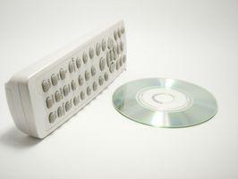 Sony DVD Remote Instruksjoner