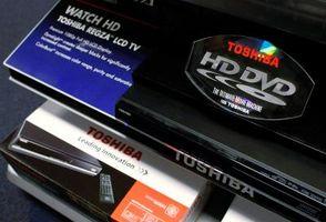 Hvordan rengjøre en Toshiba DVD Lens