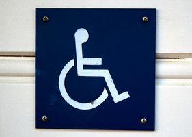 Hvordan få en Handicap Plate i Texas