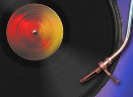 Slik spiller Vinylplater med en nål