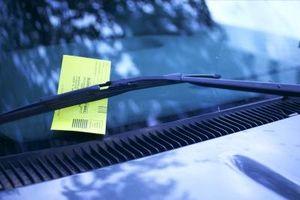 Slik Clear Up Unnlatelse av å vises i California for trafikk