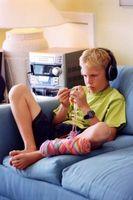 Bruksanvisning Rocket trådløse stereo hodetelefoner
