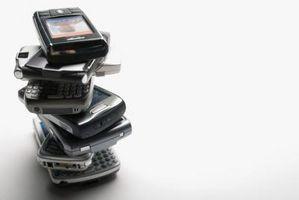 Hvordan å sende tjenesteinformasjon til en Blackberry