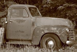 Hvordan finne verdien av Classic Trucks