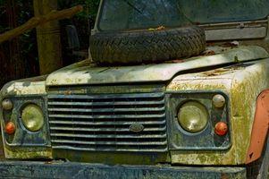 Hvordan Wire har en 2002 Land Rover for en trailer?