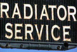 Installasjonsveiledning for en Dodge lastebil Radiator