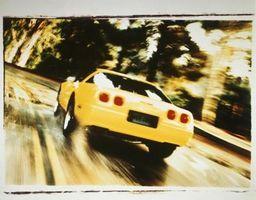 Slik fjerner hjulene på en 2002 Corvette