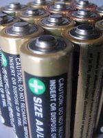 Grunner et batteri Terminal korroderer