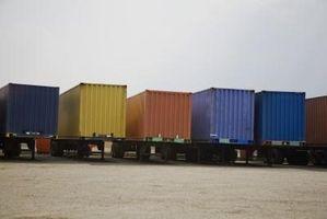 Hvordan finne kubikkmeter for en trailer