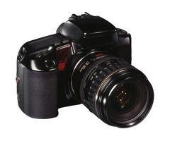 Hvordan bruke en Canon AE-1 Lens på et Canon EOS Rebel