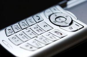 Hvor å låse opp tastaturet på en LG mobiltelefon
