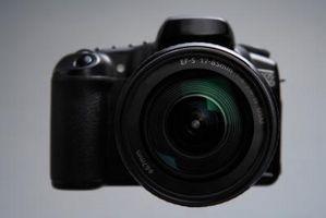 Hvordan finne ut hva mine Shutter Count er på min Nikon D40X kamera